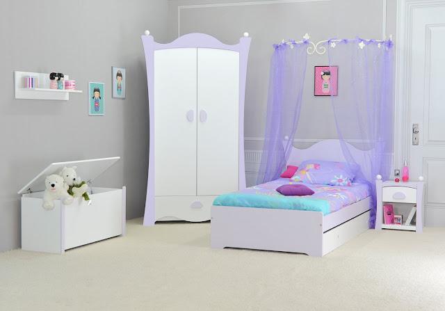 chambre jeune fille d coration. Black Bedroom Furniture Sets. Home Design Ideas