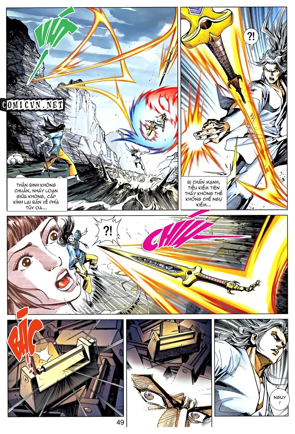 Túy Quyền Chap 9 - Trang 13