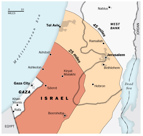 Palestin Serang Israel Guna Roket Iran