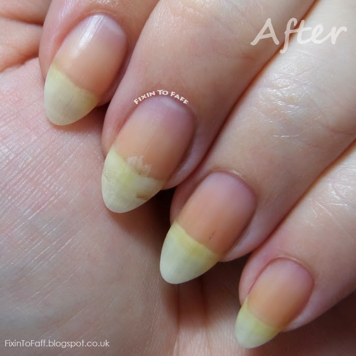 First impression review of ASP Whitening Nail Paste.