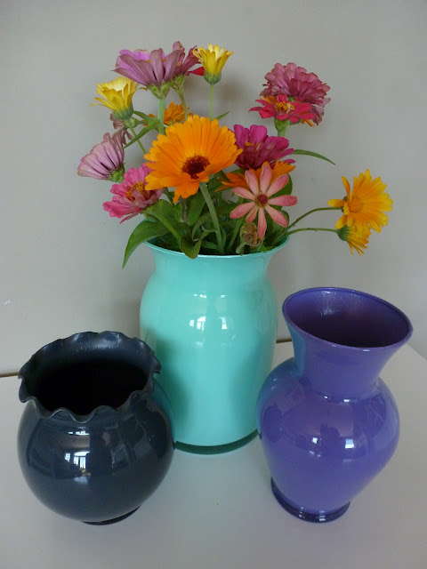 DIY Night Painted Glass Vases