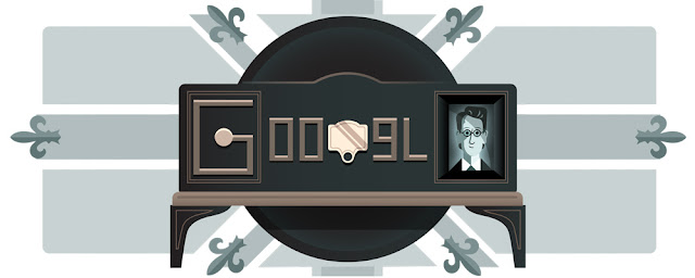 90th Anniversary of the first demonstration of Television - Google Doodle