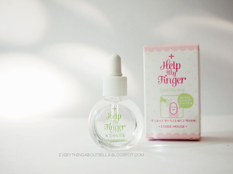 Etude House Help My Finger Quick Dry Drop | Everything About Bella ...