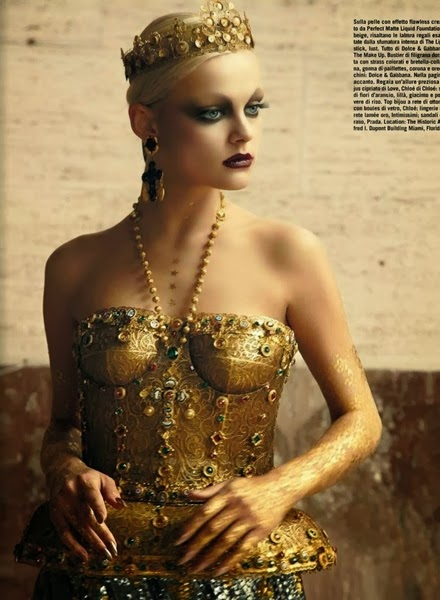 Dolce & Gabbana 2013 AW golden top