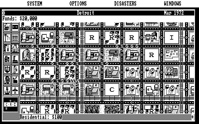 sim city for dos