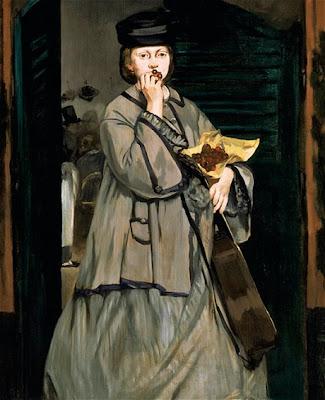 Edouard Manet - Street singer