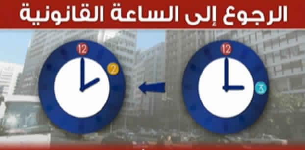 وزارة الوظيفة العمومية تحدد موعد الرجوع إلى الساعة القانونية للمملكة