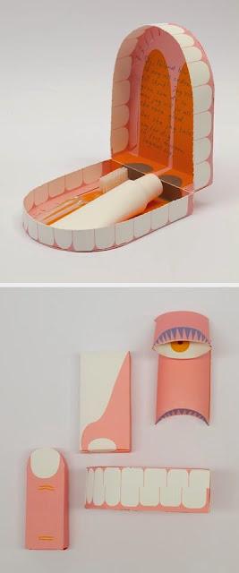 Inspiration Iscomigoo Webdesign: Packaging Boite de voyage