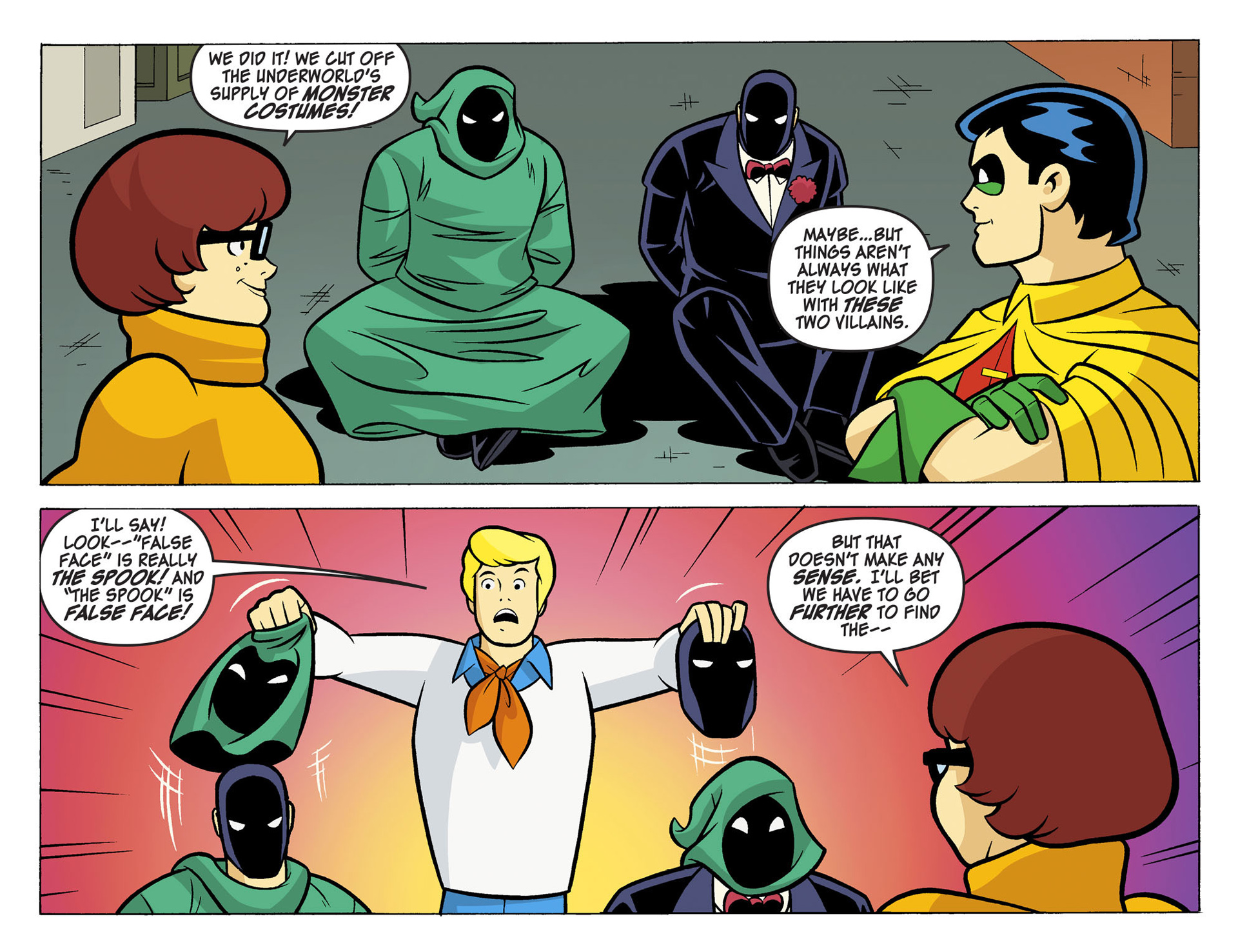 Read online Scooby-Doo! Team-Up comic -  Issue #5 - 5