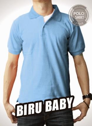 Polo Shirt Polos Biru Baby