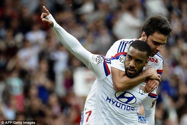 Highlights Lyon 2 – 0 Evian (Ligue 1)