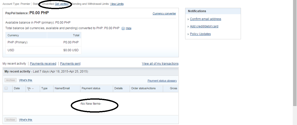 how to get money from my paypal account