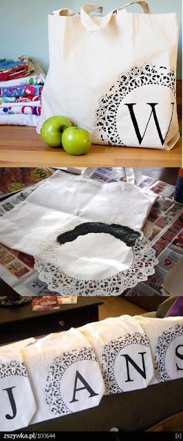 ecobag em tecido com PAP (DIY)