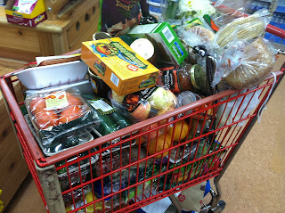 VeegMama's groceries for the week