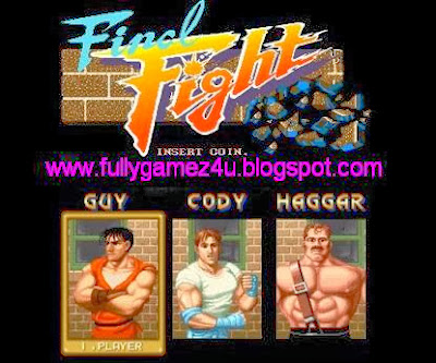 Download Free Final Fight Game
