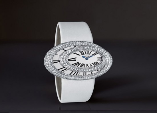 luxurious diamonds surrounded watches collection