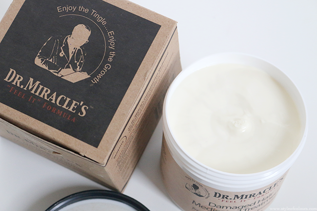 Dr. Miracles Medicated Treatment on transitioning hair