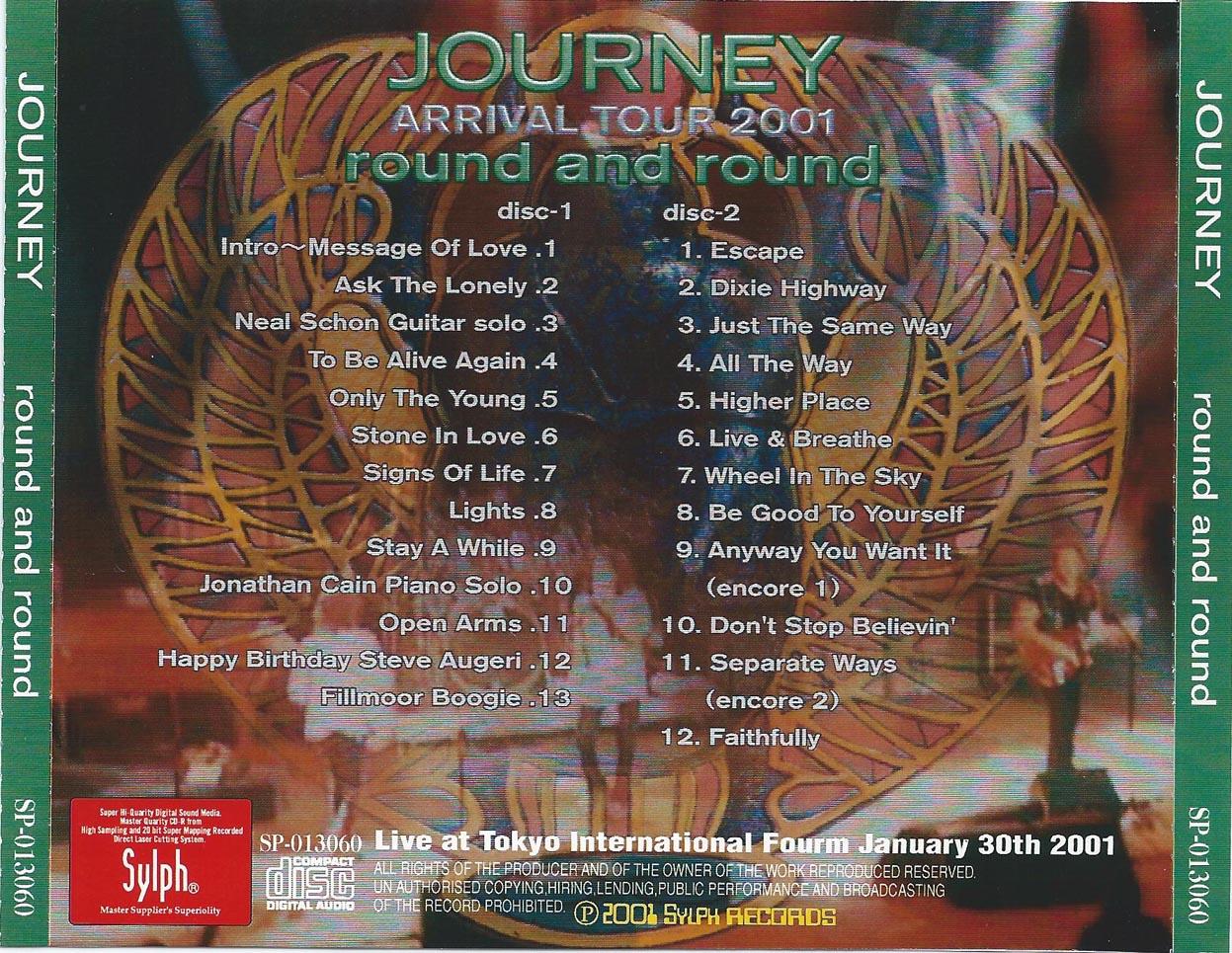 tokyo concert tickets journey