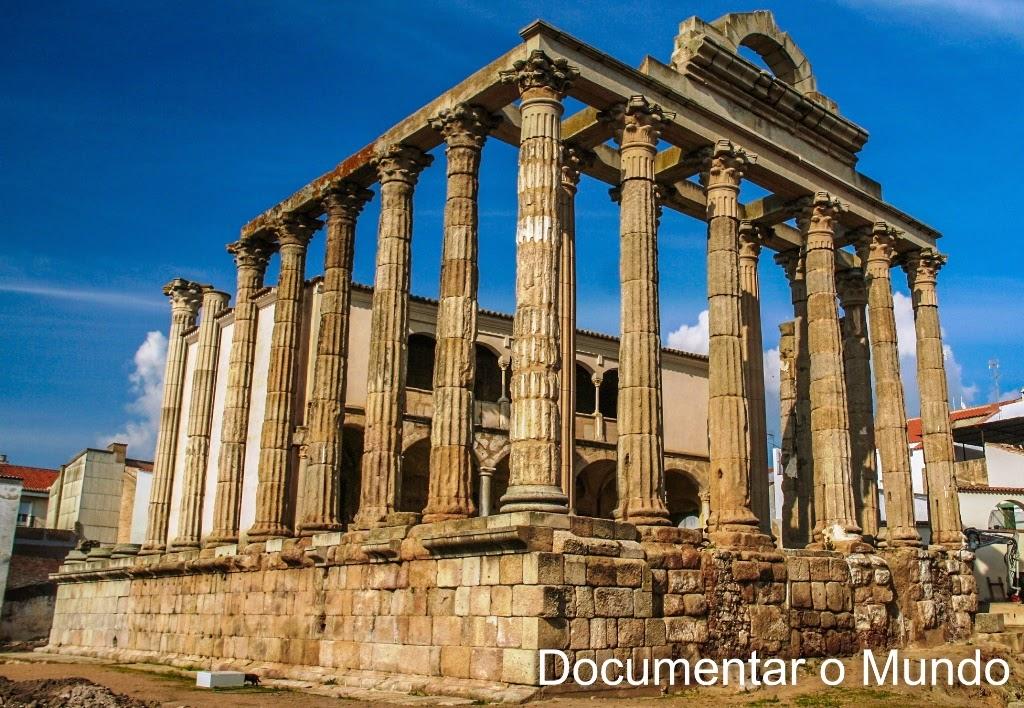 Templo de Diana, Mérida, Espanha