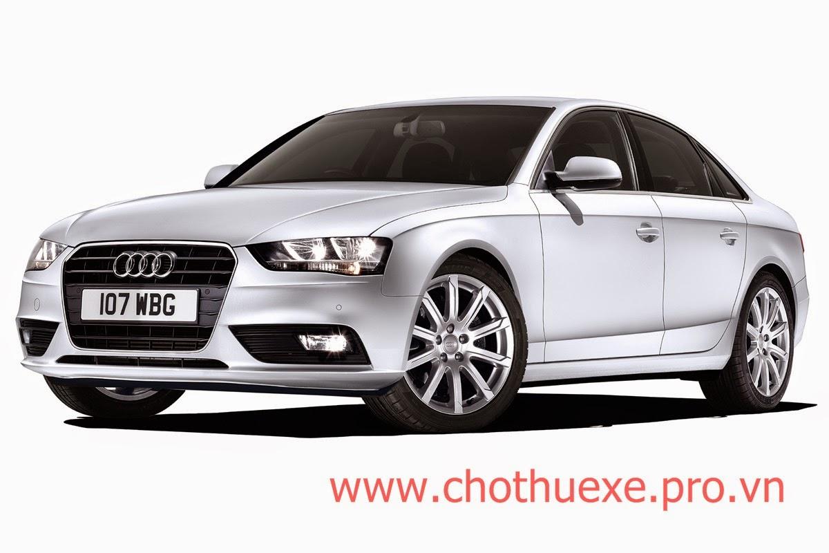 Cho thuê xe cưới Audi A4