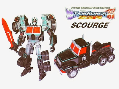 Transformers Collectors' Club Scourge