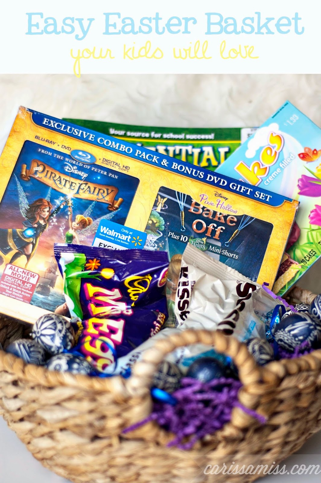 Carissa Miss: Easy Easter Basket #ProtectPixieHollow #cbias #ad