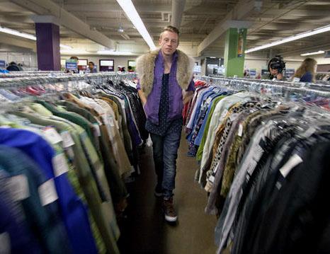 Macklemore clothing store