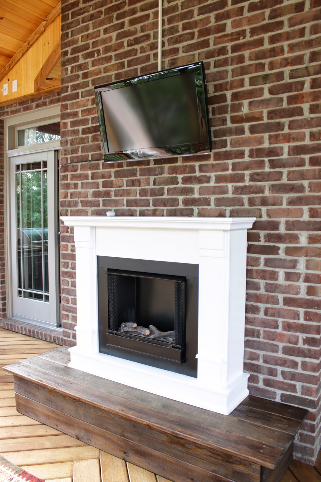 real flame gel fireplace
