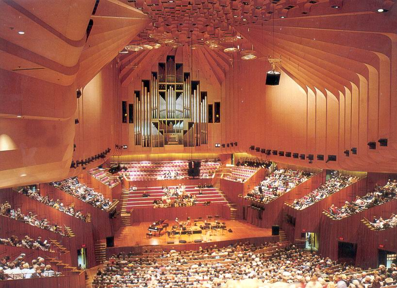 The drama theatre proscenium theater with 544 seats is for Sydney opera housse