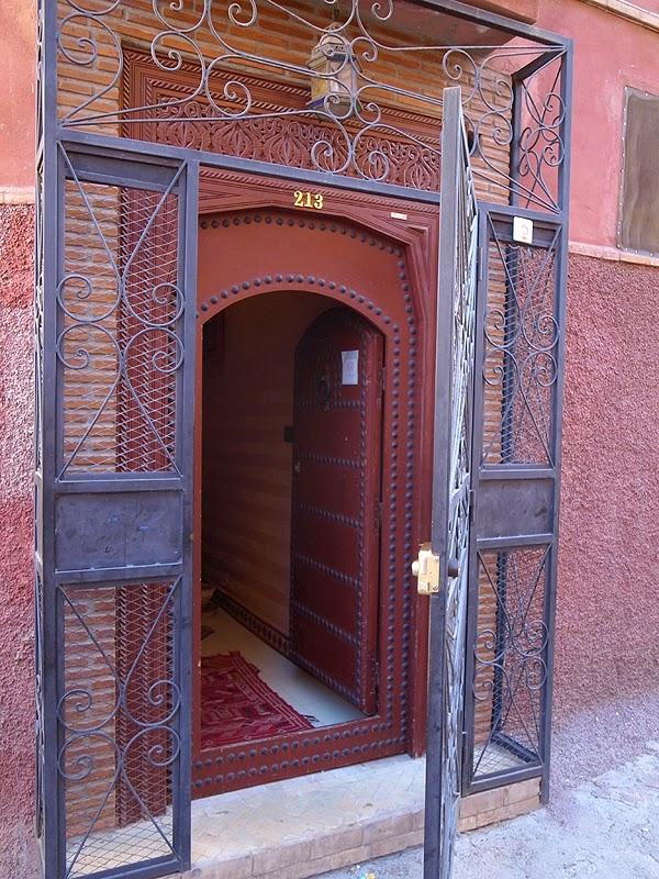 リヤドの入口