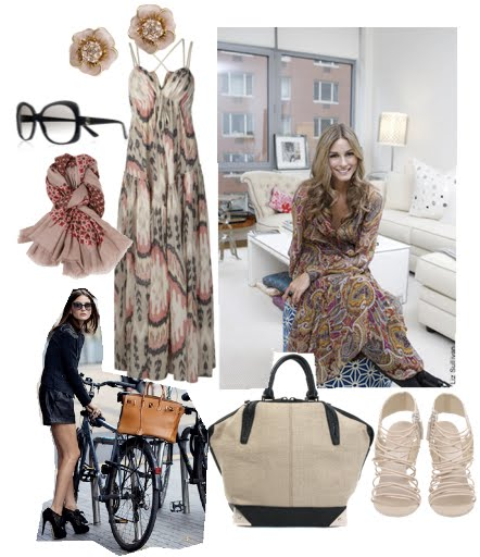 Olivia Palermo Beach style ~ design interior house