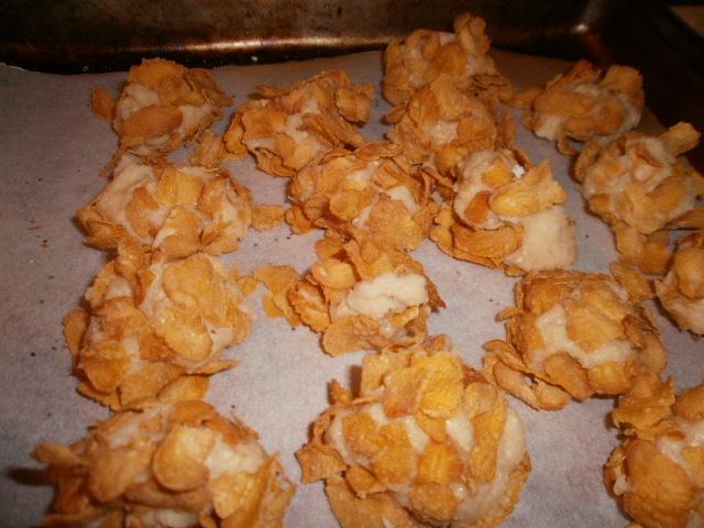 Bocaditos De Corn Flakes Y Leche Condensada (Corn Flake Clusters ...