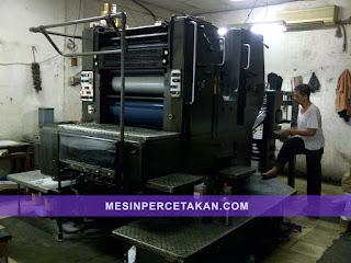 Heidelberg SORMZ 2 Color Printing Machine