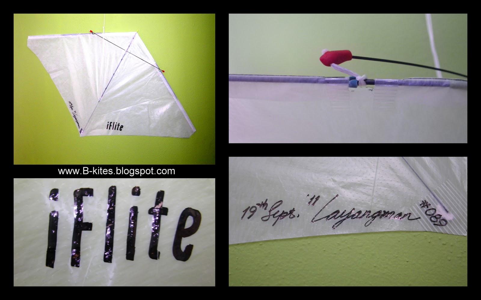 B kites iflite for Indoor kite design