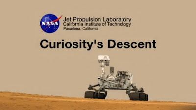 Curiosity Records its Descent To The of The Red Planet