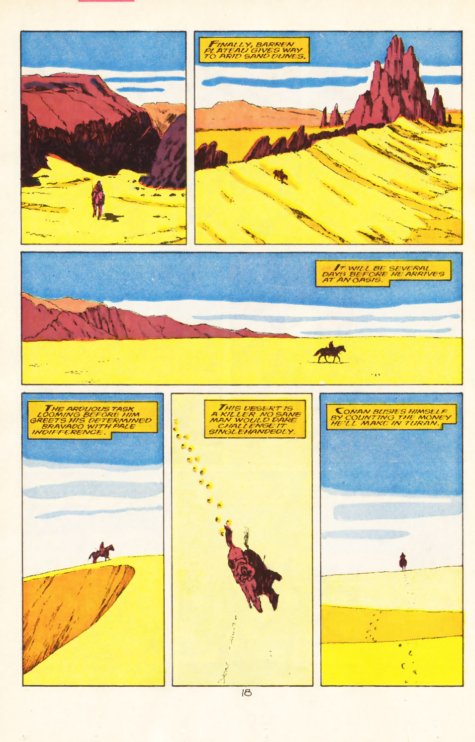 Conan the Barbarian (1970) Issue #211 #223 - English 15