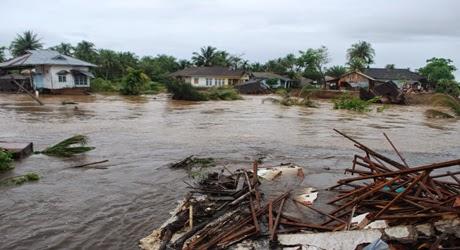 Banjir Bandang Pesisir Selatan, 657 Rumah Rusak