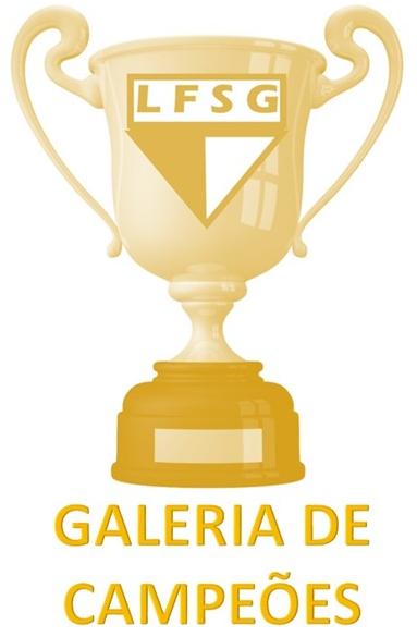 GALERIA DE CAMPEÕES