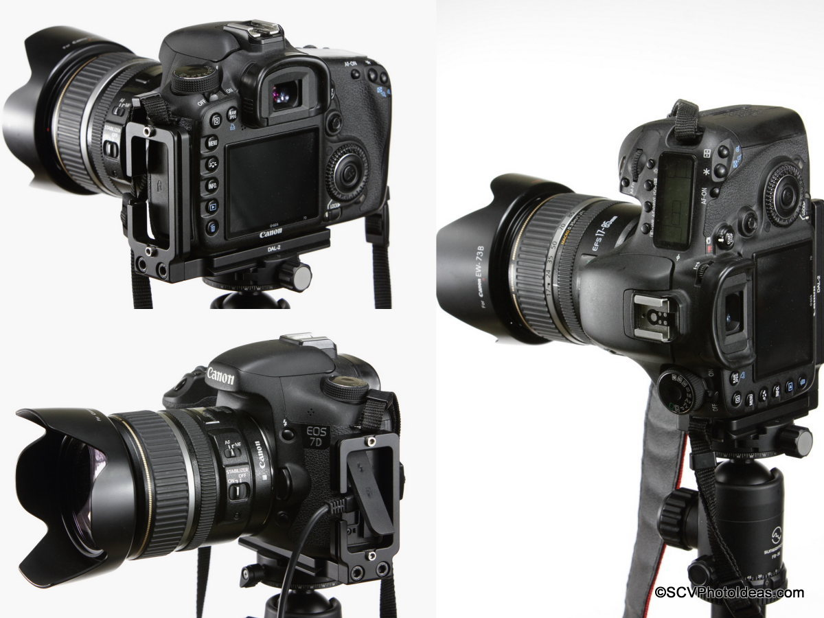 This Inexpensive L-Bracket fits a 7D Perfectly: Canon EOS 7D / 10D ...