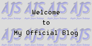 Welcome to Andri-JS Official Blog