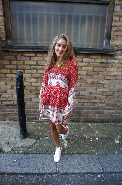 chloeschlothes - porter les trainers en robe