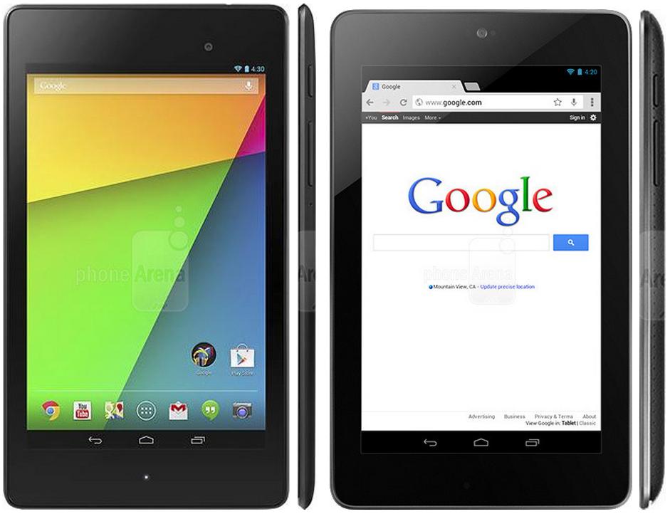 New Google Nexus 7- AT&T, T-Mobile