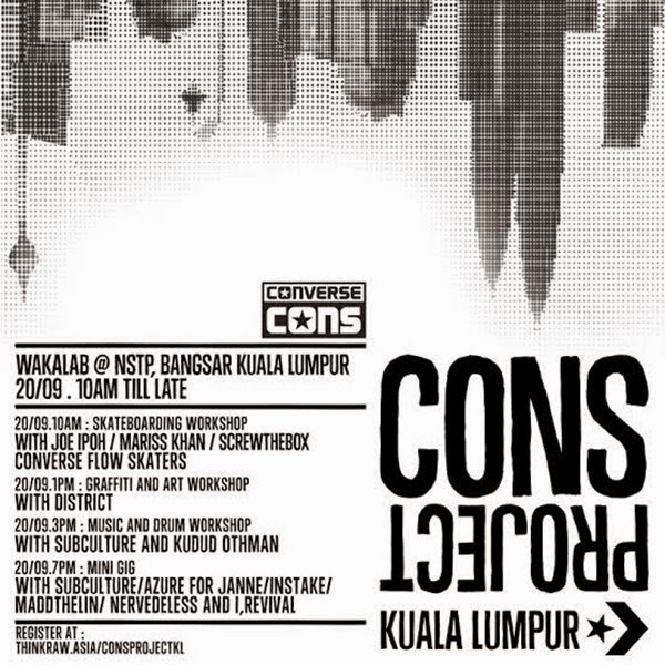 Converse Brings the CONS Project to Bangsar, Kuala Lumpur