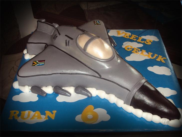 Delanas Cakes Fighter Jet Cake