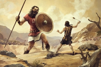 beowulf and goliath Beowulf: christian vs pagan influence essay the european epic, beowulf, was written sometime in the eighth century in england this time period provides us with an idea for the mixture of christian and pagan elements because of an english society that was in the process of converting from paganism to christianity.