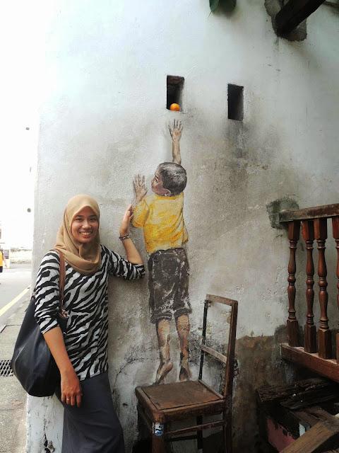 mural arts armenian street pulau pinang