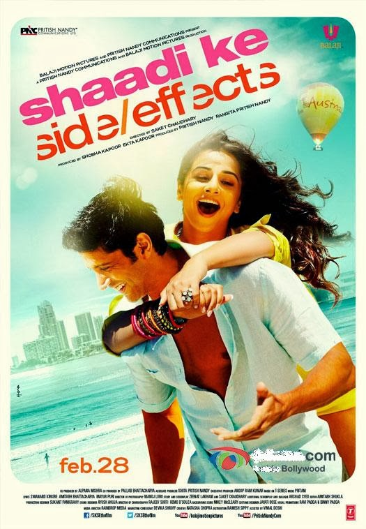 Watch Shaadi Ke Side Effects (2014) Non Retail DVDRip Hindi Full Movie Watch Online For Free Download