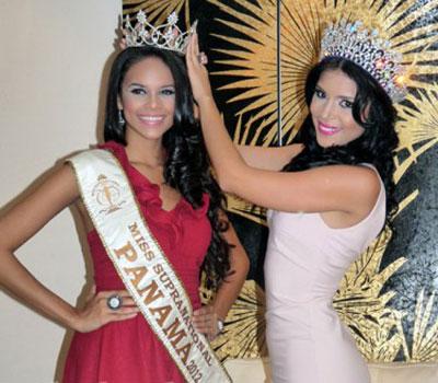 Miss Supranational Panama 2012 winner Elissa Estrada Cortez