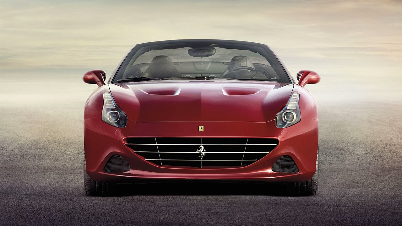 Ferrari California T front