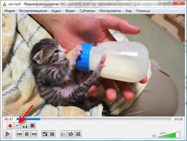 создание фото из видео